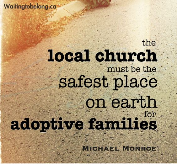adoption and the church