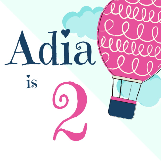 Adia is 2