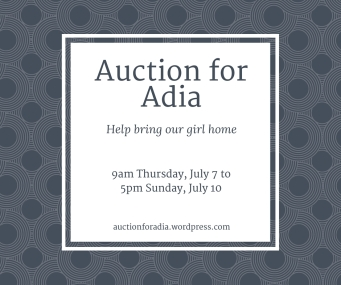 Auction for Adia